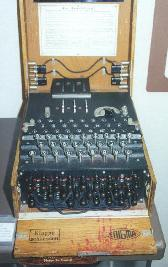 German Enigma code machine