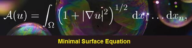 Minimal Surface Equation using bubbles