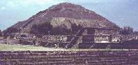 v-shaped pyramid mound
