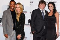 Tiger Woods and Lindsey Vonn, Jason Dufner and Amanda Boyd