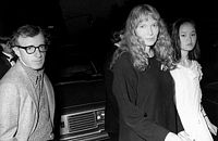Woody Allen, Mia Farrow and Soon-Yi Previn
