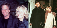 Meg Ryan, Dennis Quaid, and Russell Crowe
