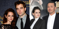 Kristen Stewart, Robert Pattinson, and Rupert Sanders