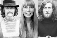 David Crosby, Joni Mitchell, Graham Nash