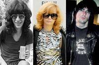 Joey Ramone, Linda Daniele, Johnny Ramone