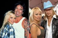 Tommy Lee, Pamela Anderson, Kid Rock