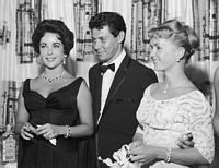 Eddie Fisher, Debbie Reynolds, and Elizabeth Taylor