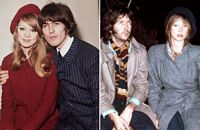 George Harrison, Pattie Boyd, Eric Clapton