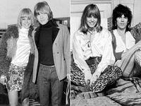 Brian Jones, Anita Pallenberg, Keith Ridhards