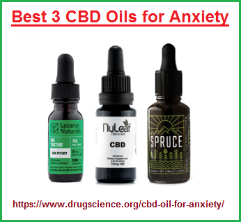 Best 3 CBD Oils for Anxiety