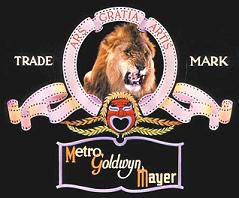 MGM lion logo 1938 to 1956  (12K)
