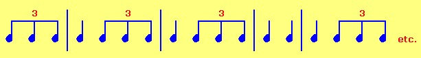 3-patterned musical notes