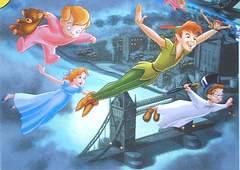 3 family members with Peter Pan (8K)