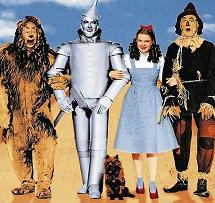 3 to 1 Wizard of Oz characters (15K)