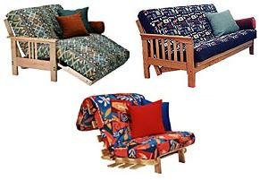3 types of futon frames